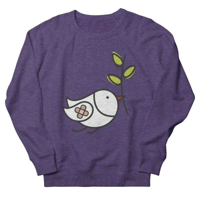Peace Women's French Terry Sweatshirt by ElenaLosada Artist Shop
