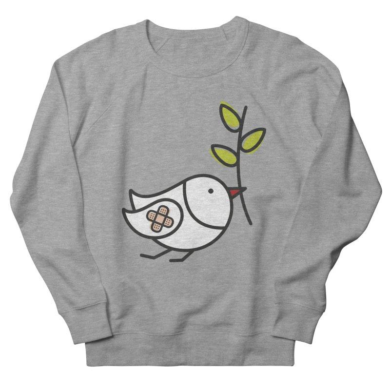 Peace Men's French Terry Sweatshirt by ElenaLosada Artist Shop