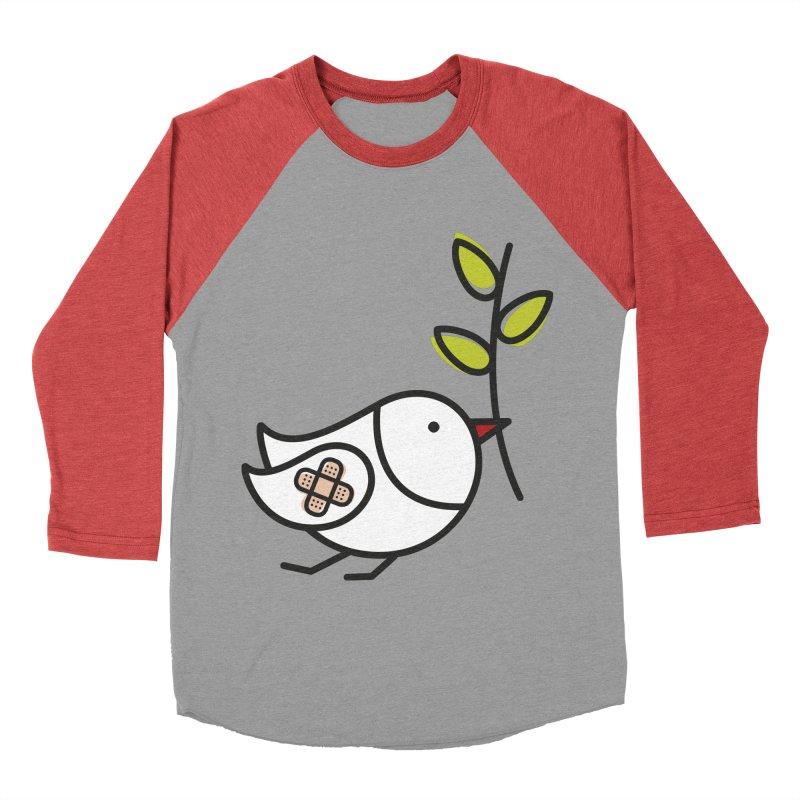 Peace Women's Baseball Triblend T-Shirt by elenalosadaShop's Artist Shop