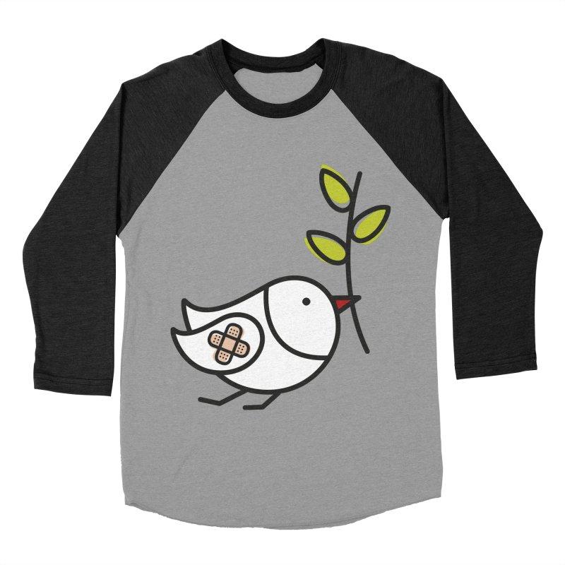 Peace Men's Baseball Triblend T-Shirt by elenalosadaShop's Artist Shop