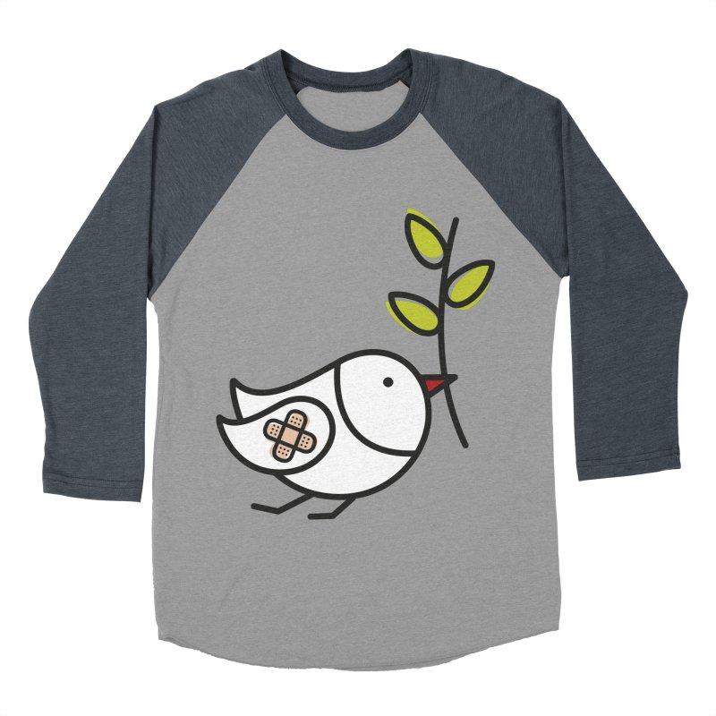 Peace Men's Baseball Triblend Longsleeve T-Shirt by ElenaLosada Artist Shop