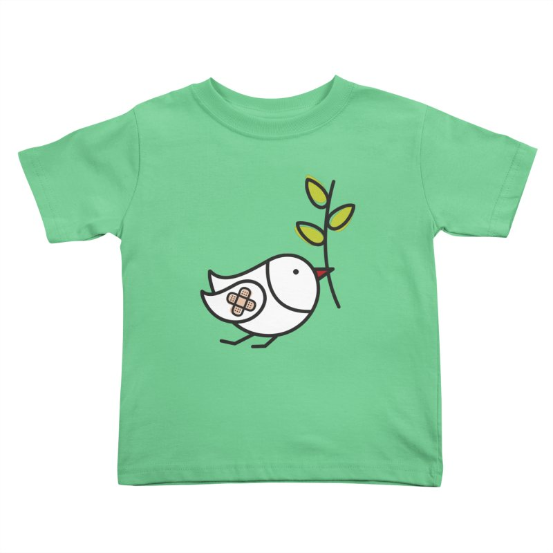 Peace Kids Toddler T-Shirt by elenalosadaShop's Artist Shop