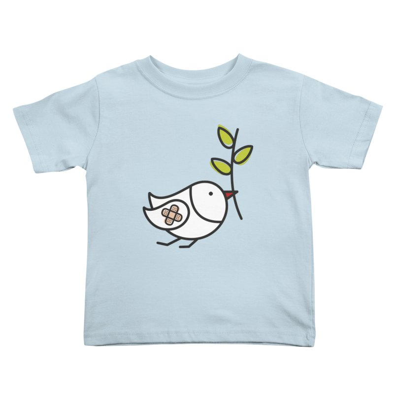 Peace Kids Toddler T-Shirt by ElenaLosada Artist Shop