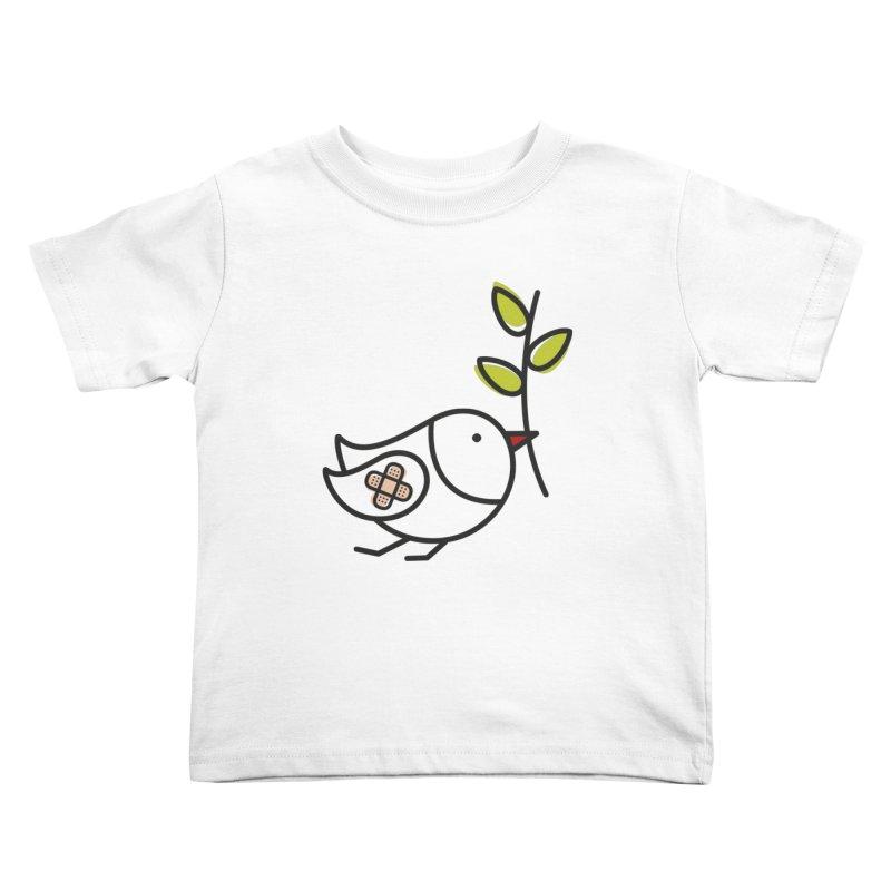 Peace Kids Toddler T-Shirt by ElenaLosada Artist Shop