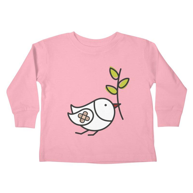 Peace Kids Toddler Longsleeve T-Shirt by ElenaLosada Artist Shop