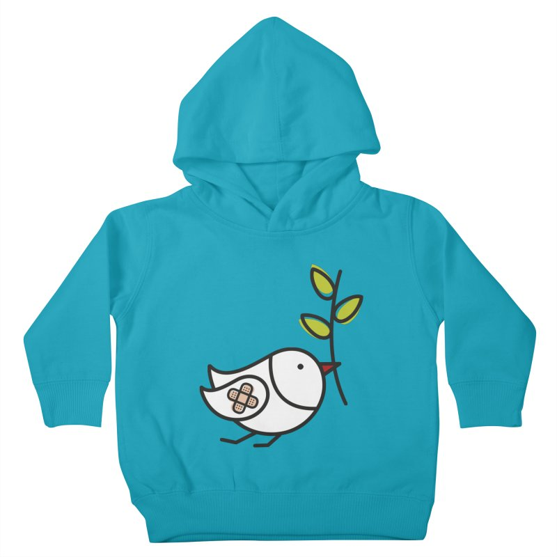 Peace Kids Toddler Pullover Hoody by elenalosadaShop's Artist Shop