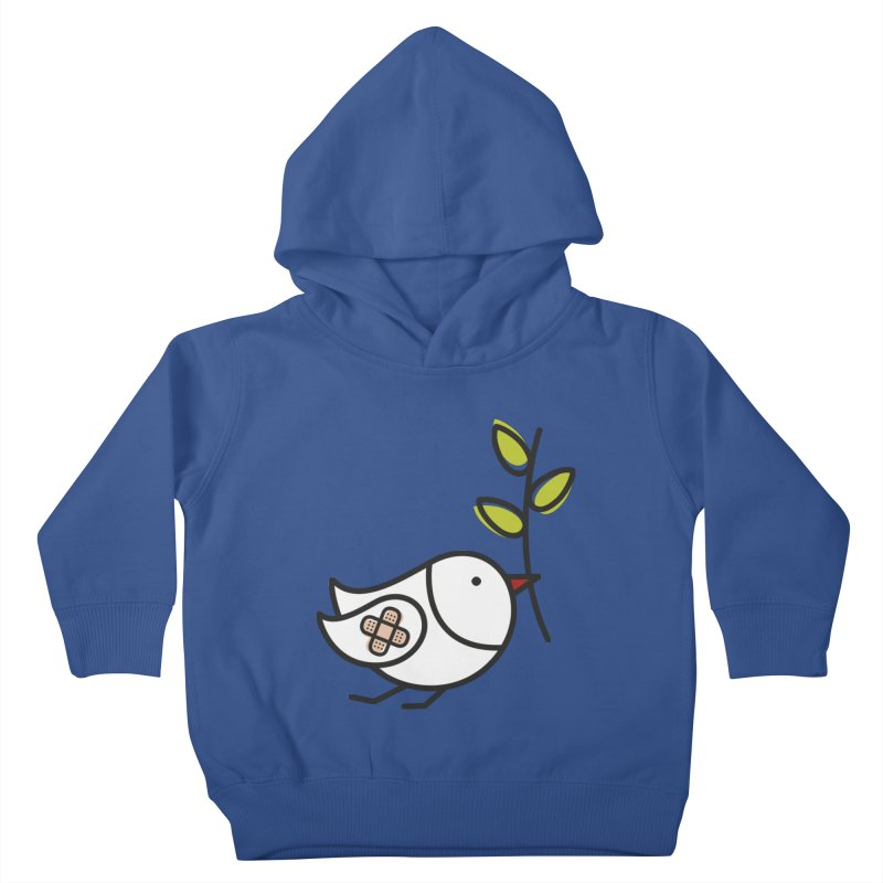 Peace Kids Toddler Pullover Hoody by ElenaLosada Artist Shop