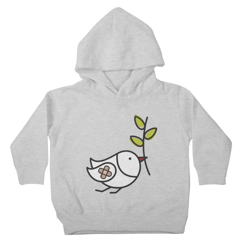 Peace Kids Toddler Pullover Hoody by ElenaLosada Artist Shop