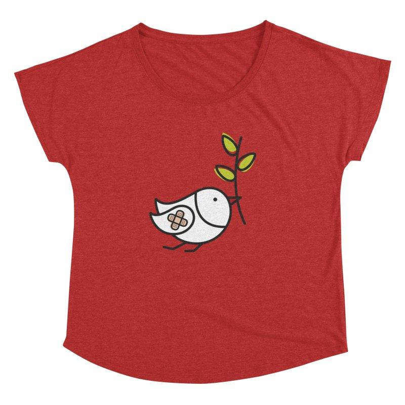 Peace Women's Dolman Scoop Neck by ElenaLosada Artist Shop
