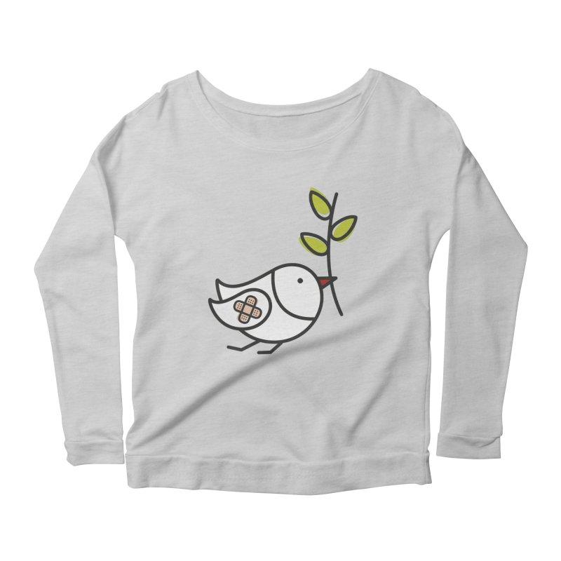 Peace Women's Scoop Neck Longsleeve T-Shirt by ElenaLosada Artist Shop