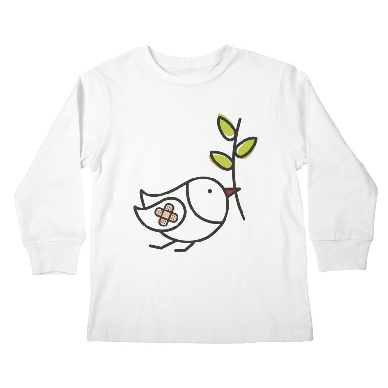 Peace Kids Longsleeve T-Shirt by ElenaLosada Artist Shop