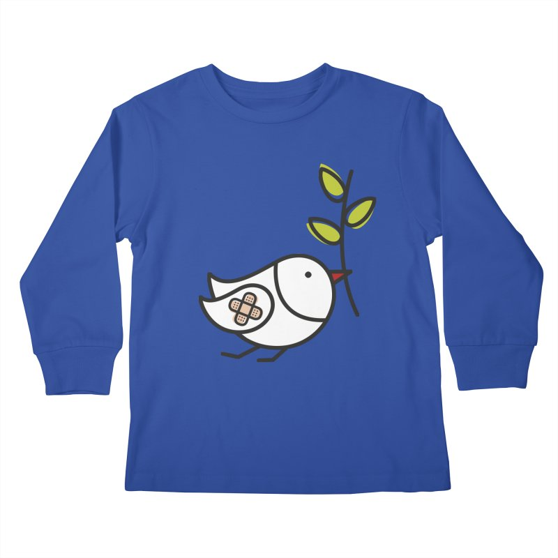 Peace Kids Longsleeve T-Shirt by elenalosadaShop's Artist Shop