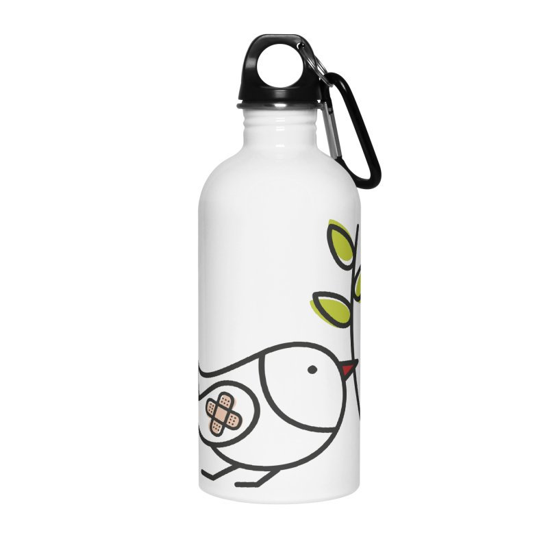 Peace Accessories Water Bottle by ElenaLosada Artist Shop