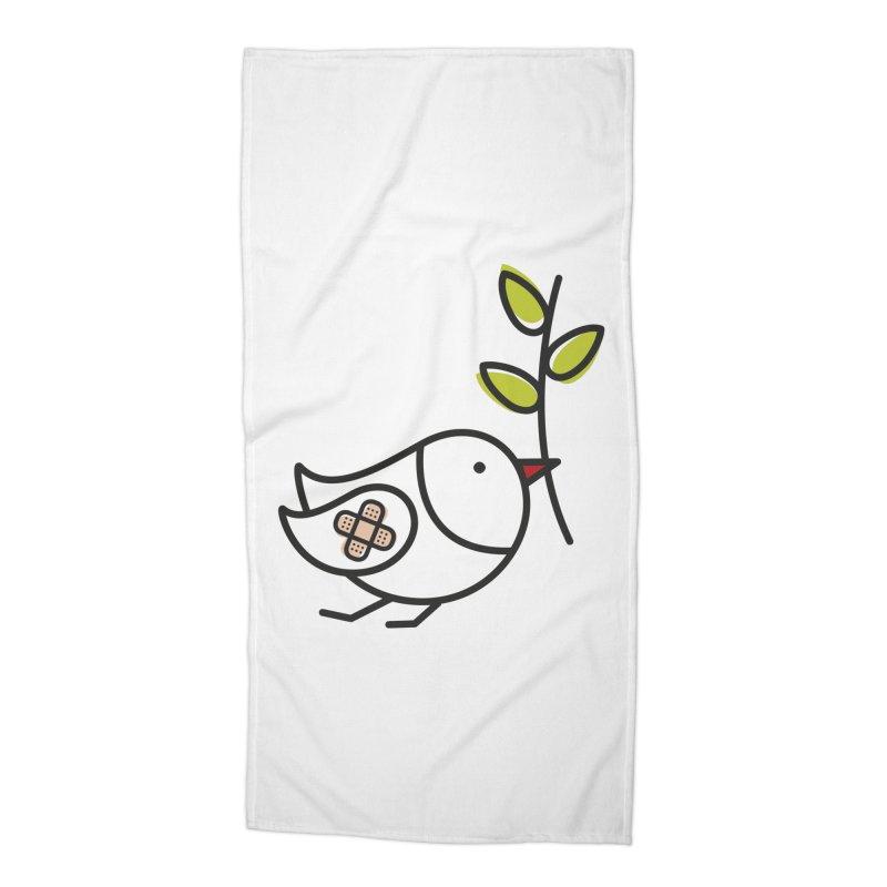 Peace Accessories Beach Towel by ElenaLosada Artist Shop