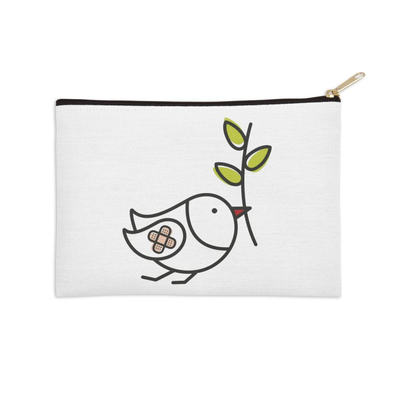 Peace Accessories Zip Pouch by ElenaLosada Artist Shop