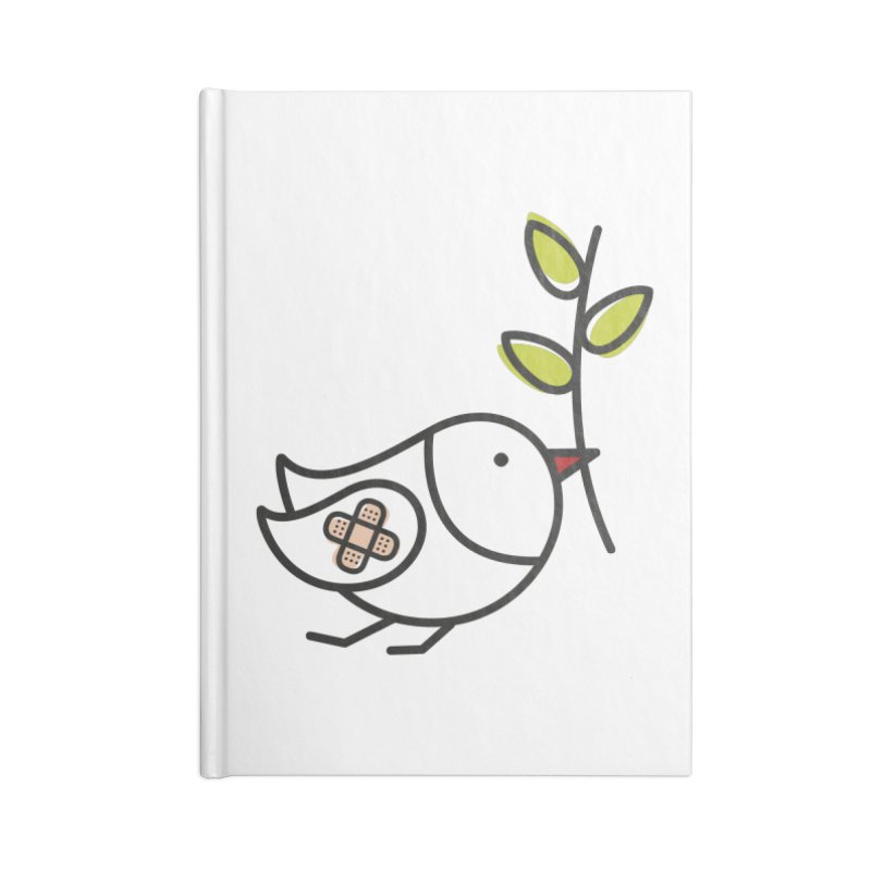 Peace Accessories Notebook by elenalosadaShop's Artist Shop