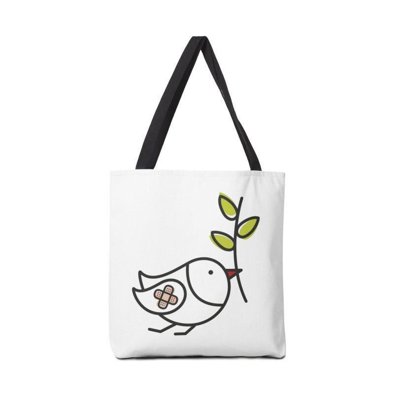Peace Accessories Bag by elenalosadaShop's Artist Shop