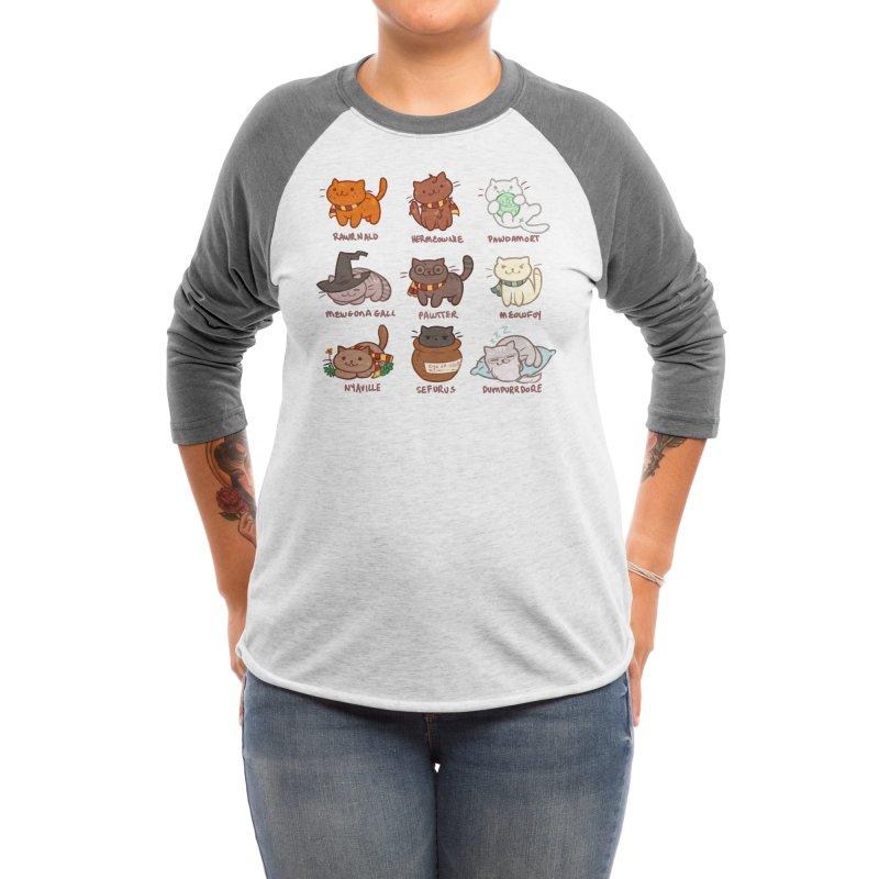 Potter cats Women's Longsleeve T-Shirt by Elentori