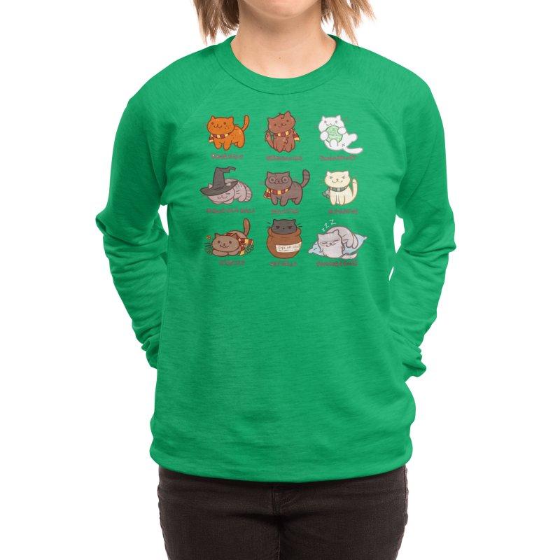 Potter cats Women's Sweatshirt by Elentori