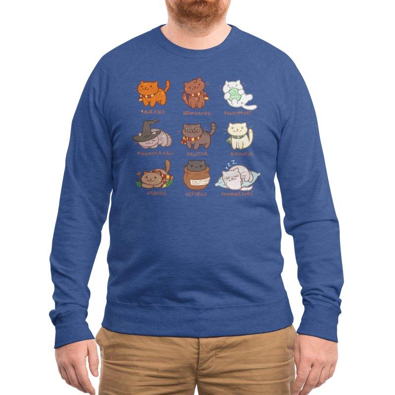 Potter cats Men's Sweatshirt by Elentori