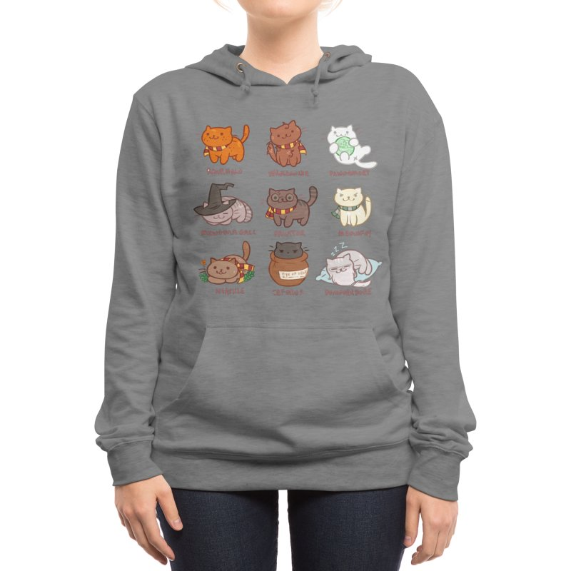 Potter cats Women's Pullover Hoody by Elentori