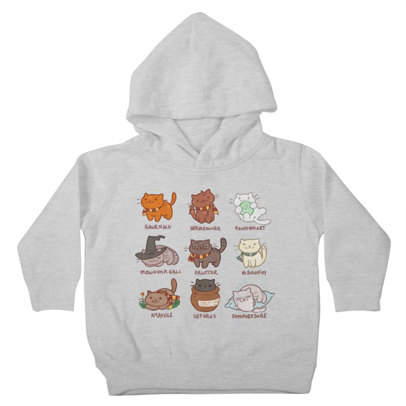 Potter cats Kids Toddler Pullover Hoody by Elentori