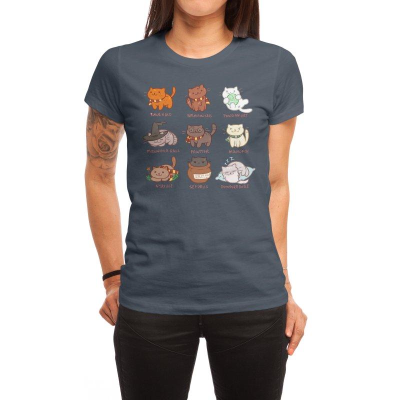 Potter cats Women's T-Shirt by Elentori