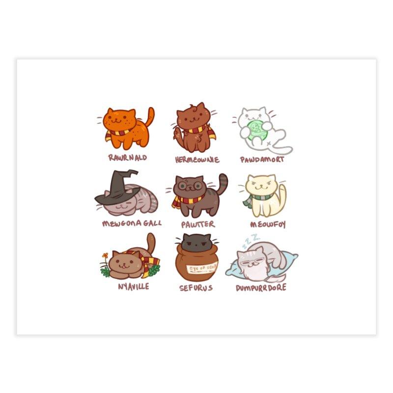 Potter cats Home Fine Art Print by Elentori