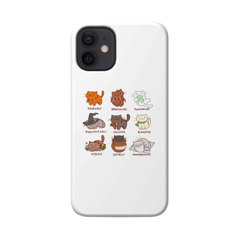Potter cats Accessories Phone Case by Elentori