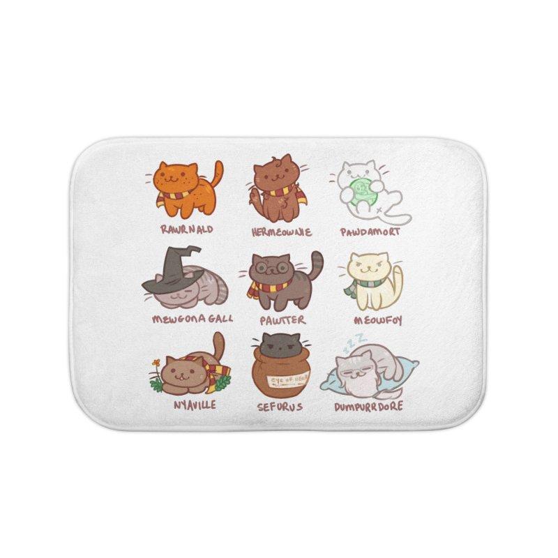 Potter cats Home Bath Mat by Elentori