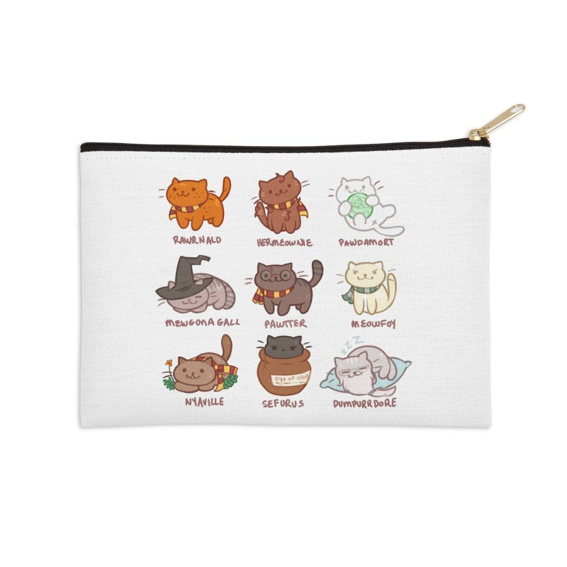 Potter cats Accessories Zip Pouch by Elentori