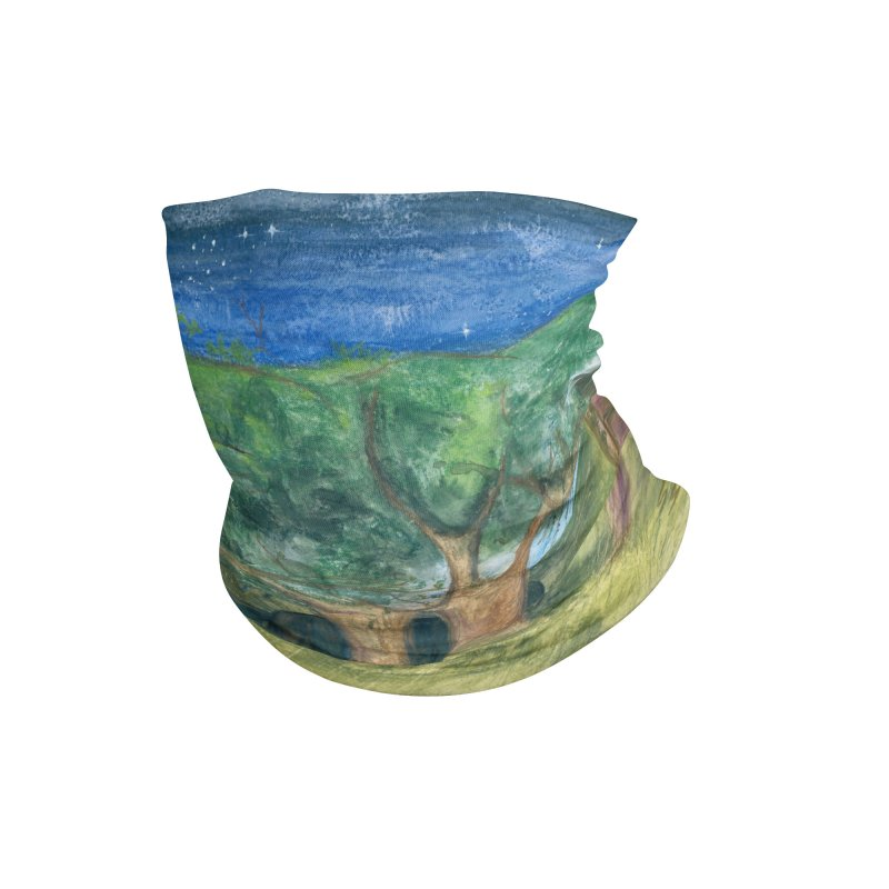 Elephant Forest Accessories Neck Gaiter by Trunks & Leaves' Artist Shop