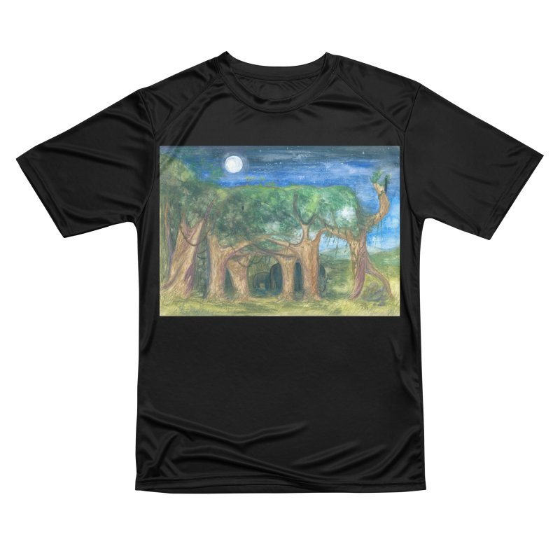 Elephant Forest Men's T-Shirt by Trunks & Leaves' Artist Shop