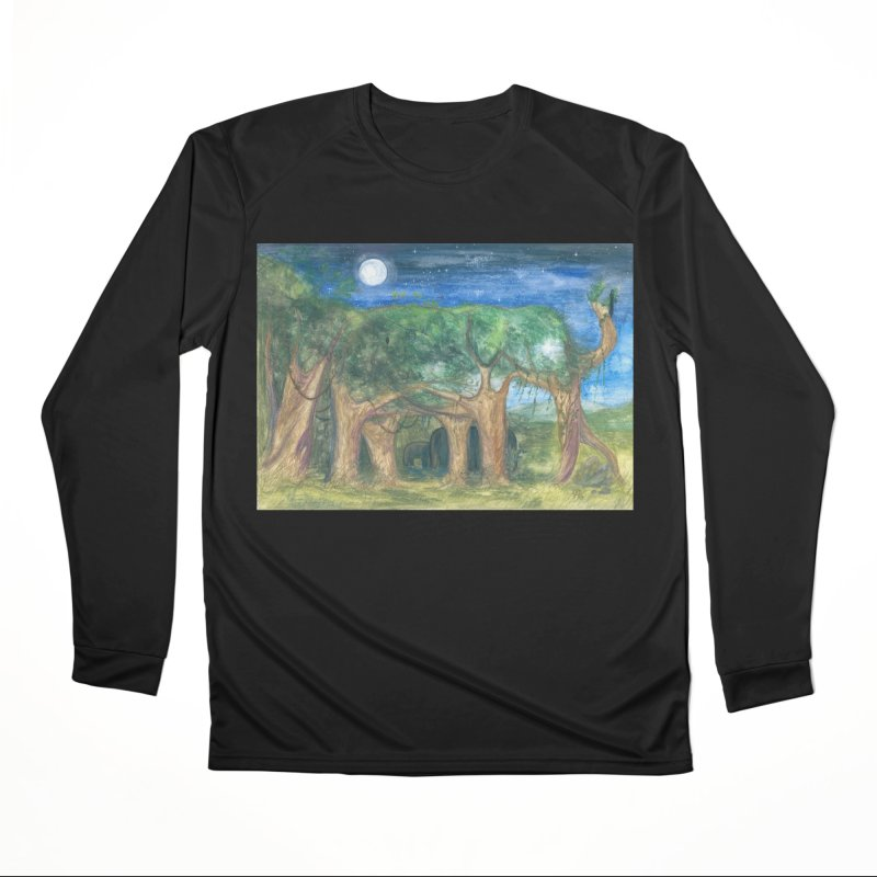 Elephant Forest Men's Longsleeve T-Shirt by Trunks & Leaves' Artist Shop