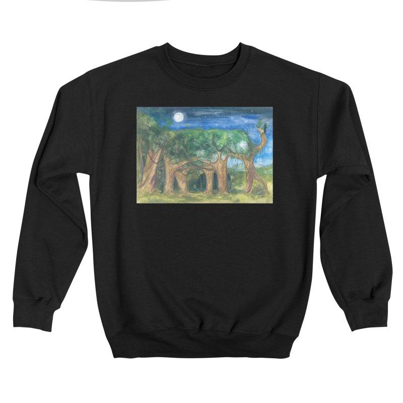 Elephant Forest Men's Sweatshirt by Trunks & Leaves' Artist Shop