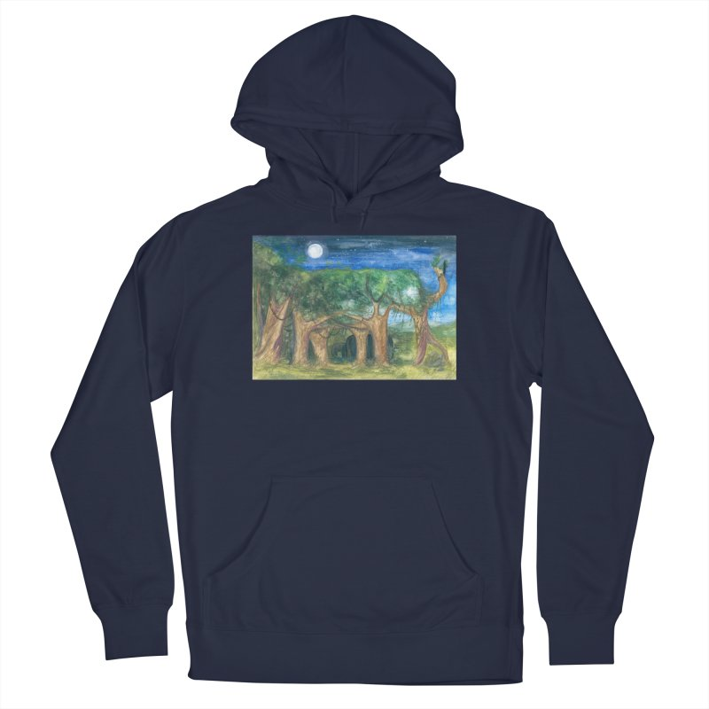 Elephant Forest Men's Pullover Hoody by Trunks & Leaves' Artist Shop
