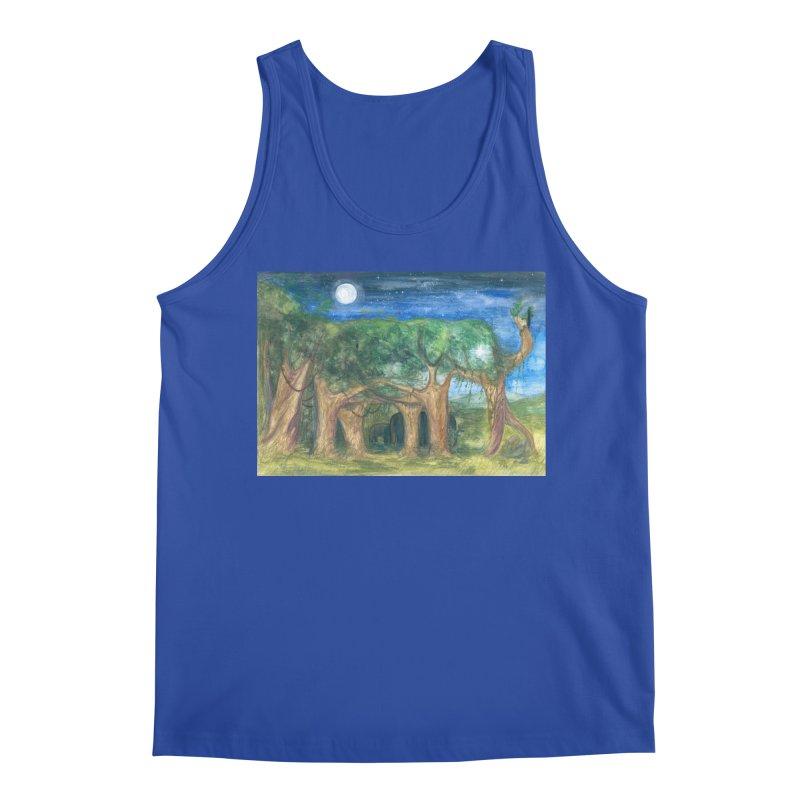 Elephant Forest Men's Tank by Trunks & Leaves' Artist Shop