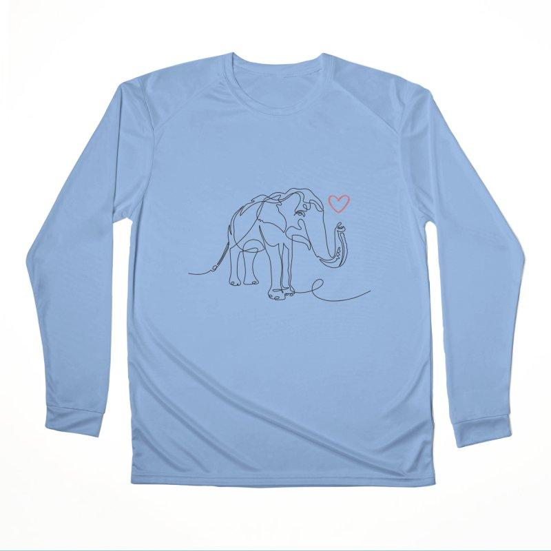 Elly Love - Black Men's Longsleeve T-Shirt by Trunks & Leaves' Artist Shop