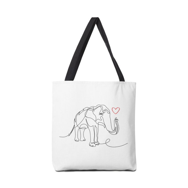 Elly Love - Black Accessories Bag by Trunks & Leaves' Artist Shop