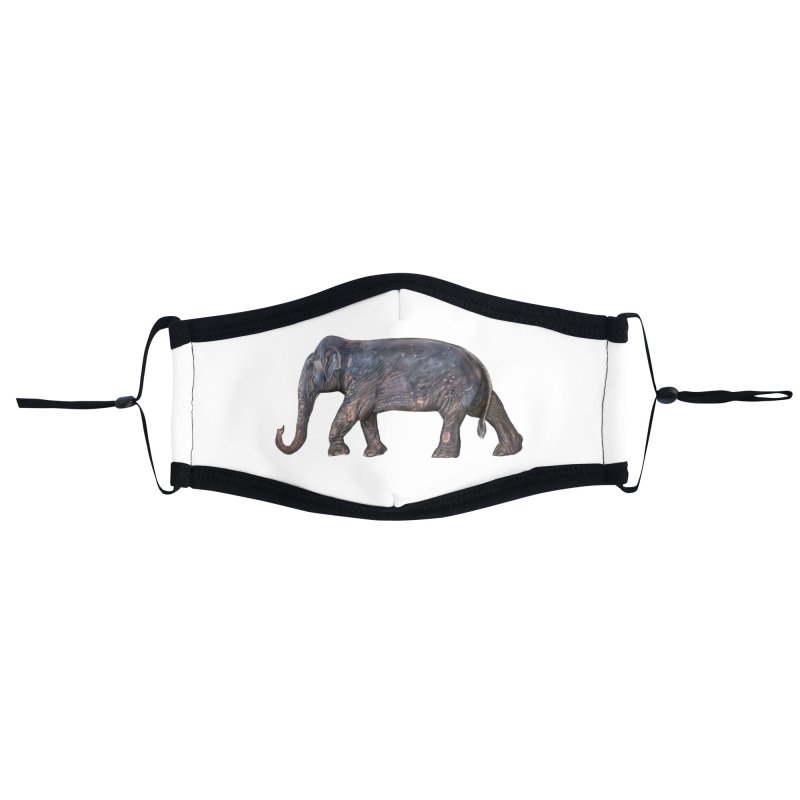 Walking Bull by Sketchy Wildlife Accessories Face Mask by Trunks & Leaves' Artist Shop