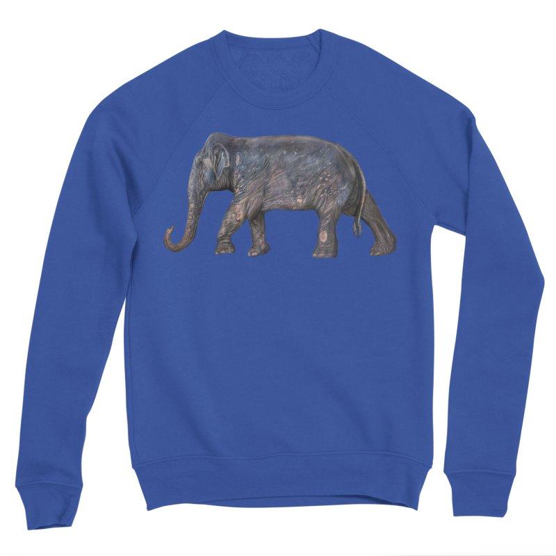 Walking Bull by Sketchy Wildlife Men's Sweatshirt by Trunks & Leaves' Artist Shop