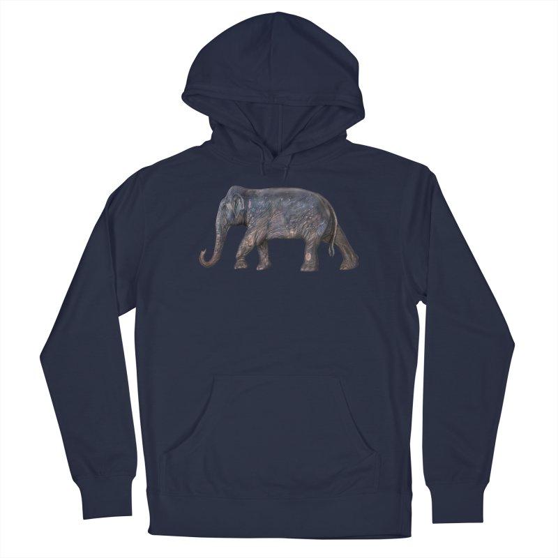 Walking Bull by Sketchy Wildlife Men's Pullover Hoody by Trunks & Leaves' Artist Shop