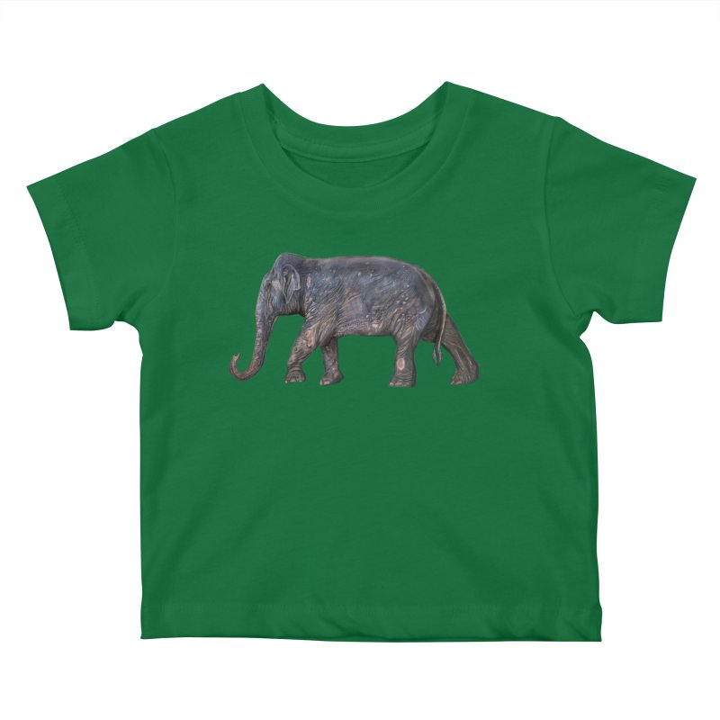 Walking Bull by Sketchy Wildlife Kids Baby T-Shirt by Trunks & Leaves' Artist Shop
