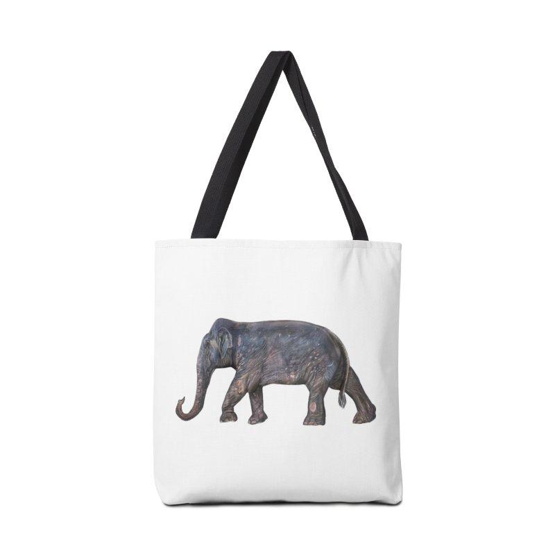 Walking Bull by Sketchy Wildlife Accessories Bag by Trunks & Leaves' Artist Shop