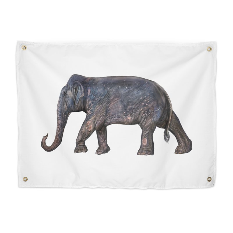 Walking Bull by Sketchy Wildlife Home Tapestry by Trunks & Leaves' Artist Shop