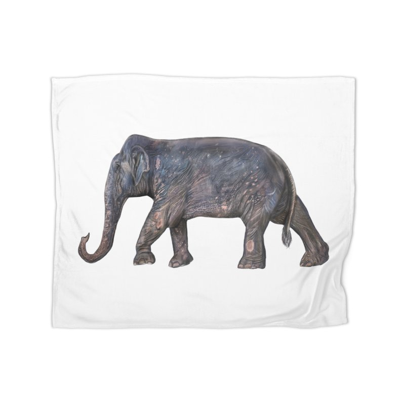 Walking Bull by Sketchy Wildlife Home Blanket by Trunks & Leaves' Artist Shop