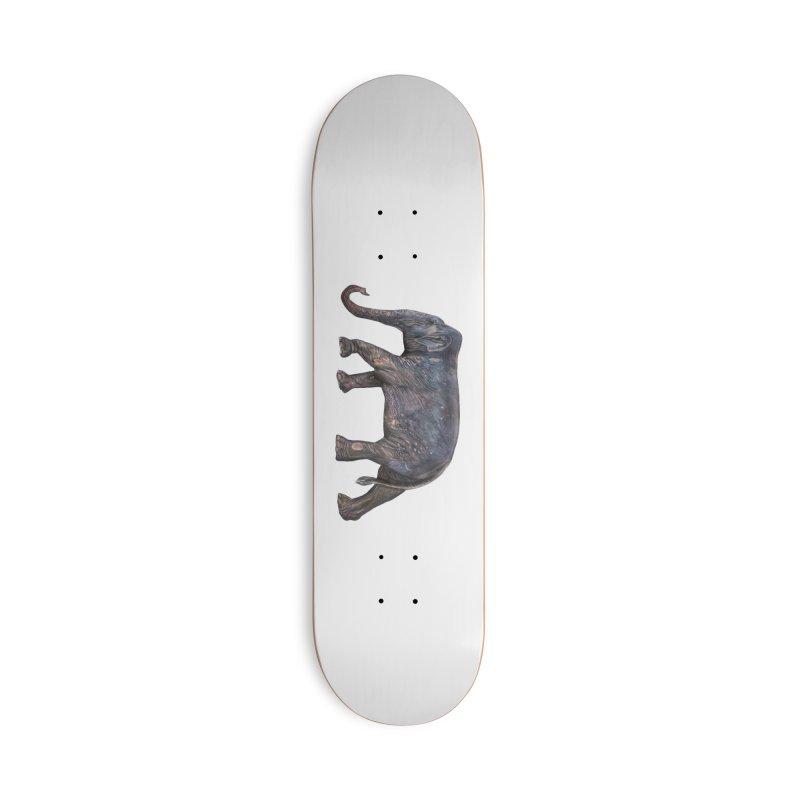 Walking Bull by Sketchy Wildlife Accessories Skateboard by Trunks & Leaves' Artist Shop