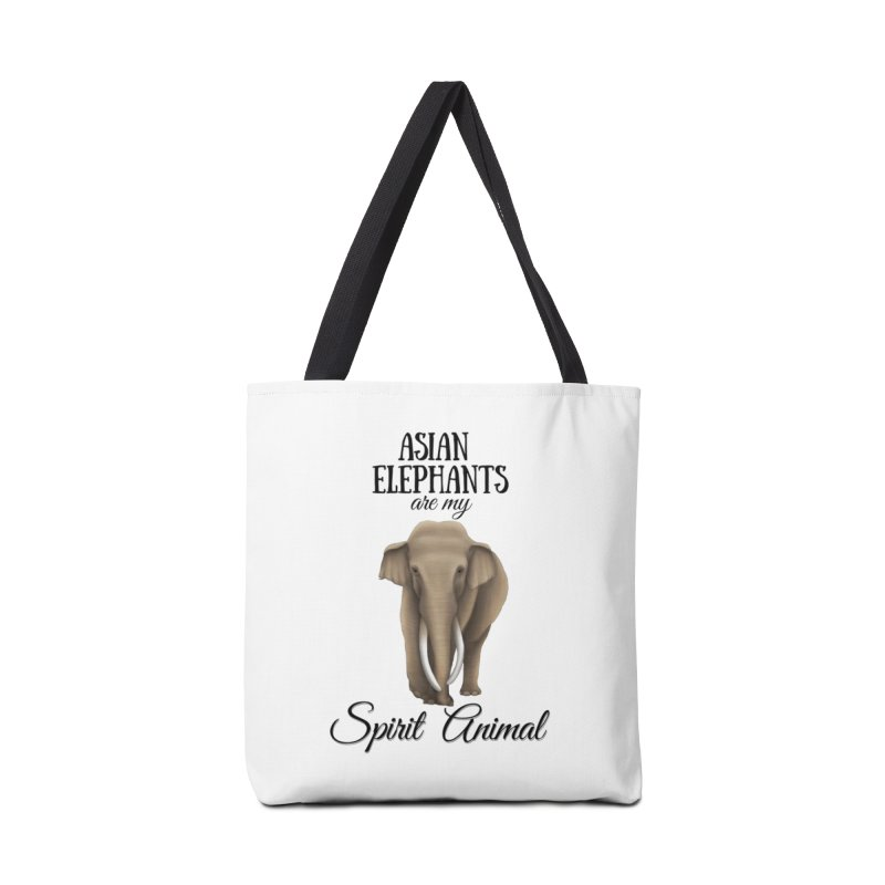Troy Paulo - Asian Elephants are my Spirit Animal Accessories Bag by Trunks & Leaves' Artist Shop