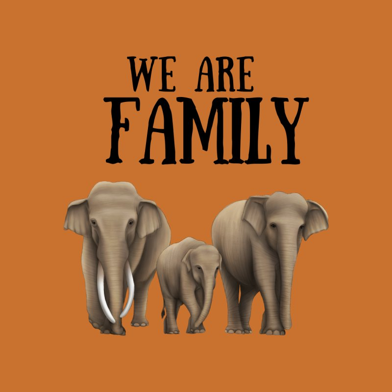 Troy Paulo - We Are Family Accessories Bag by Trunks & Leaves' Artist Shop