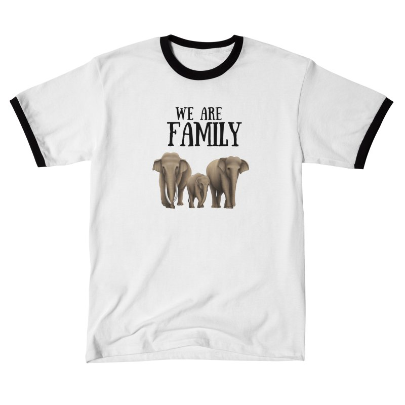 Troy Paulo - We Are Family Men's T-Shirt by Trunks & Leaves' Artist Shop